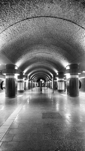 Journey Into The Dark Symmetrical Bnw_collection EyeEm Best Shots - Black + White