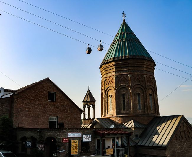 Architecture History Built Structure Business Finance And Industry Travel Destinations Building Exterior Sky Blue Day City Outdoors No People Clear Sky Clock Bird Politics And Government Clock Face Azerbaycan Architecture Low Angle View The Graphic City EyeEmNewHere