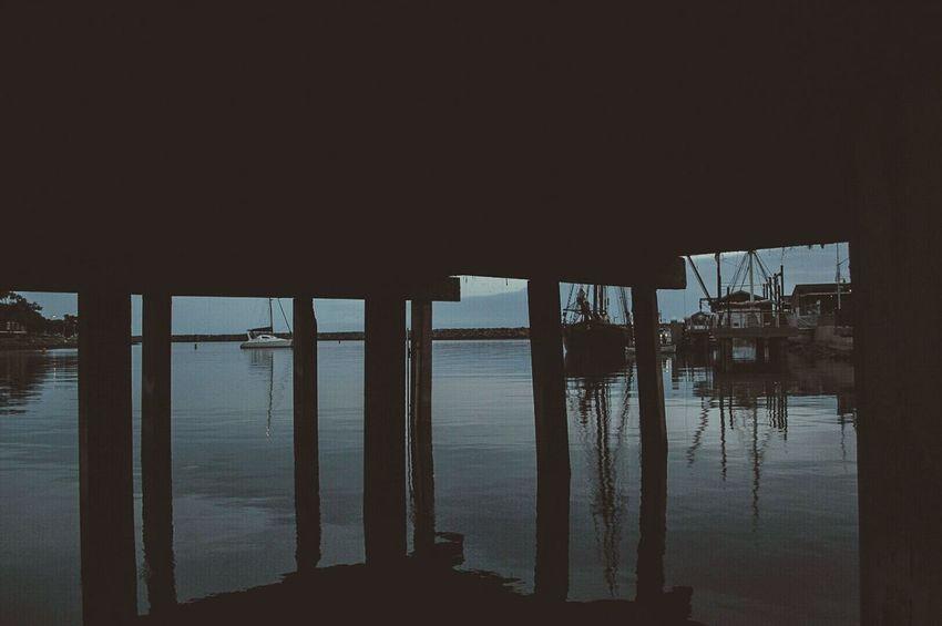 Dana Point, Ca Under The Pier