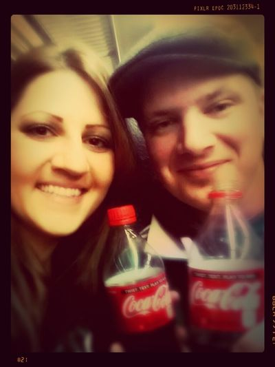 Hanging Out On The Train Drinking Coke Riding The Train Coke Captain And Coke