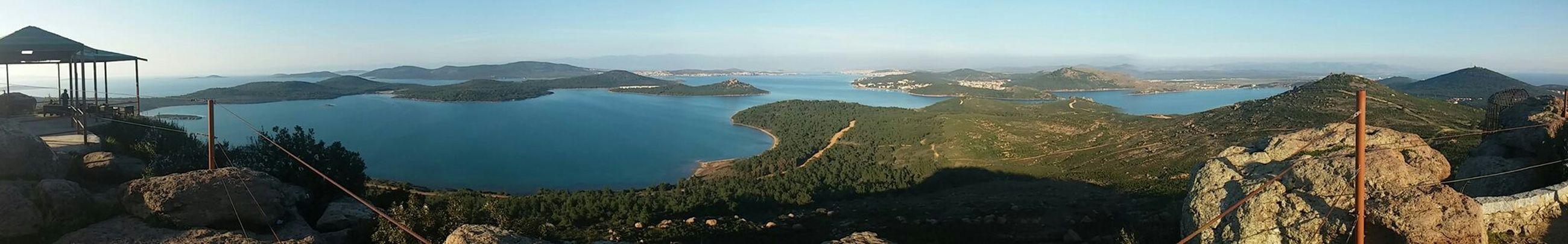 Ayvalik Seytansofrasi Footprints Balikesir Cunda Traveling Scenery Sea Panoramic Photography