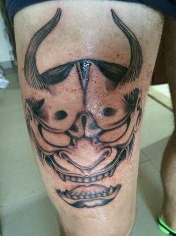 Nopainnogain New Tattoo Japanese Style Firstsession Dubai❤