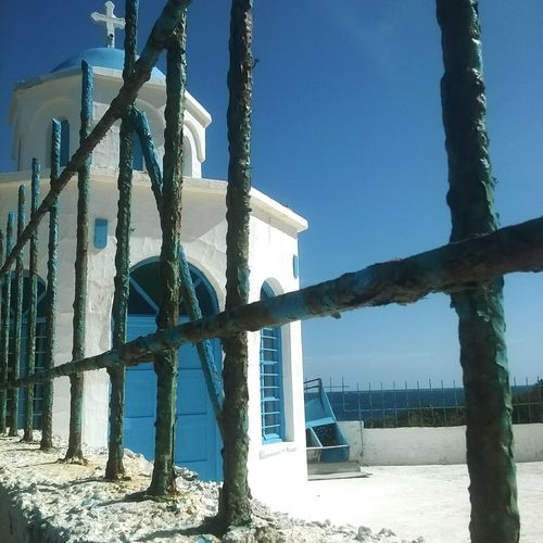 Clear Sky Blue Sky GREECE ♥♥ 📷📷✌✌🌎🌎 Outdoors Tranquil Scene