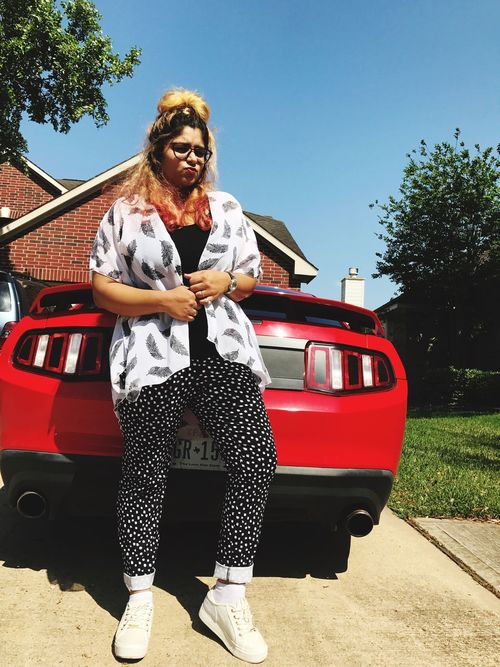 Loveforcars  Mustang Sunnyday☀️ PreUniversity