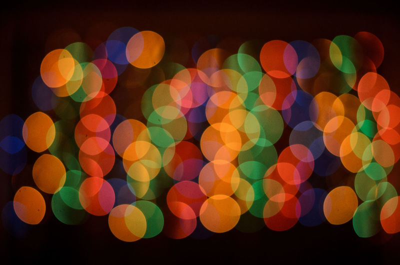 Abstract Bokeh Bokeh Photography Circle Close-up Colorful Design Detail Indoors  Multi Colored No People Pattern Textured