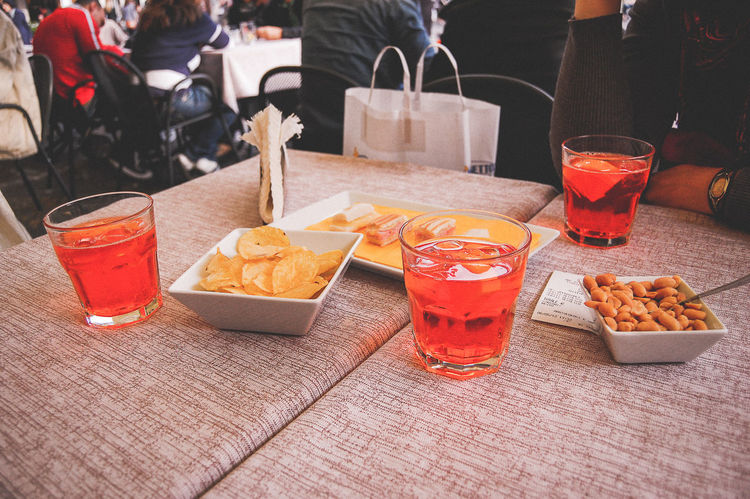 Aperol Spritz Apéro Cocktail Drink Drinking Glass Food And Drink Freshness Holiday Italian Italy Refreshment Snacks Spritz Table Tourism Travel Destinations Travel Photography Venice Hanging Out With Friends Things I Like