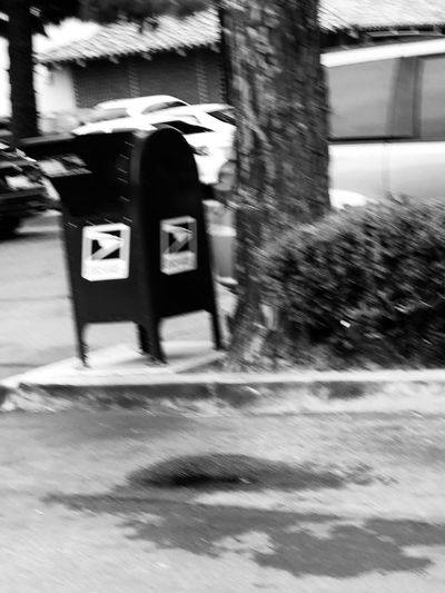 USPS. Everyday shot. Architecture Real People Blurred Motion Built Structure Day City Lifestyles Street
