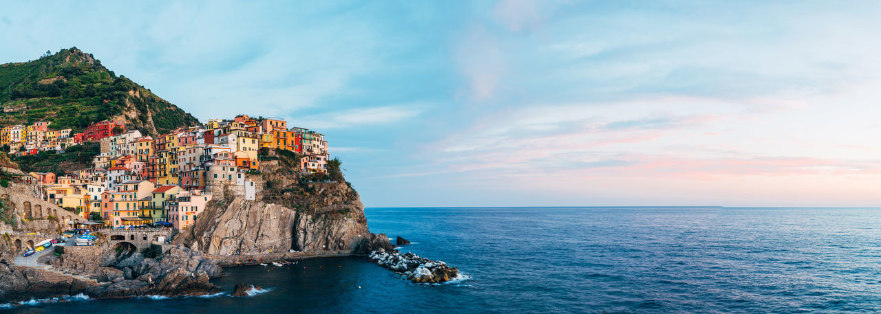 Architecture Astrology Sign Beauty In Nature Cliff Day Manarola Natural Arch Nature No People Outdoors Rock - Object Scenics Sea Sky Travel Destinations Vacations Water The Great Outdoors - 2018 EyeEm Awards