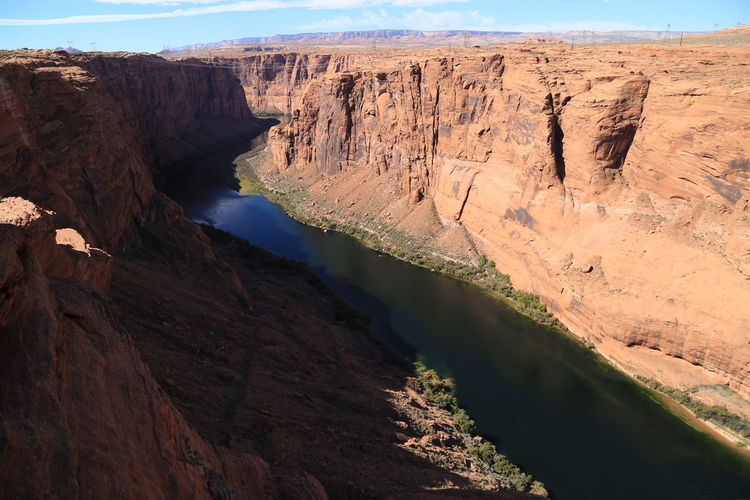 Scenic View Of Glen Canyon