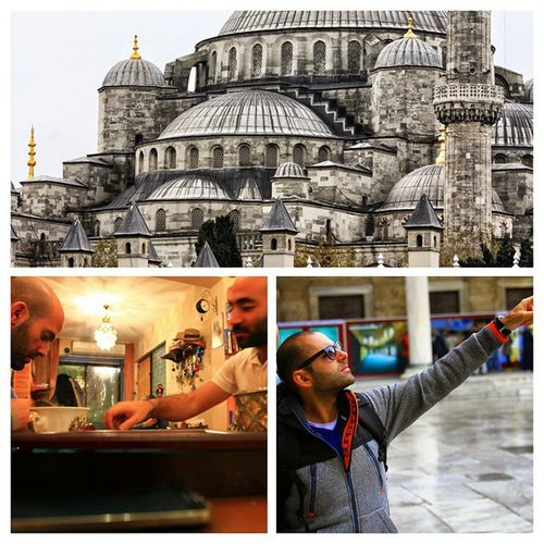 Istanbul with les rayess (@ramzirayess and bro)