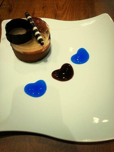 Cake Chestnut Love Heart