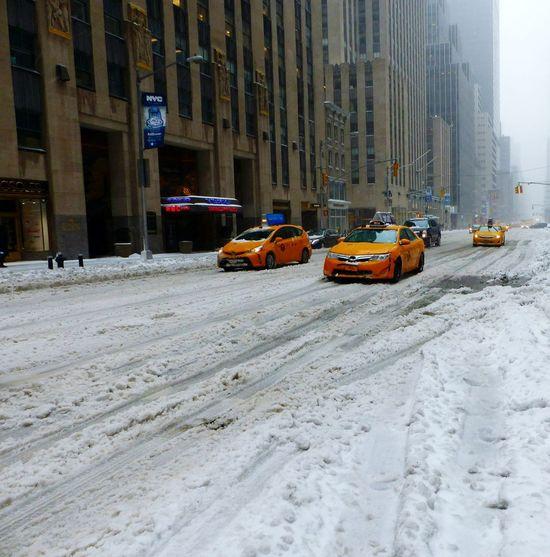 New York City Blizzard Stella Blizzard 2017 Blizzard2017 Snowday Snowstorm Taxi