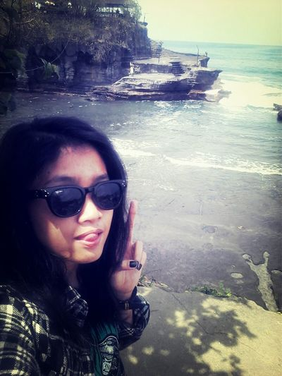 Beautiful place..pura d tengah laut.. :D Nature Beachphotography Bali INDONESIA