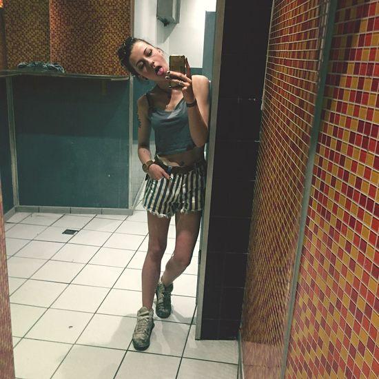 Mirror Young Adult Selfie