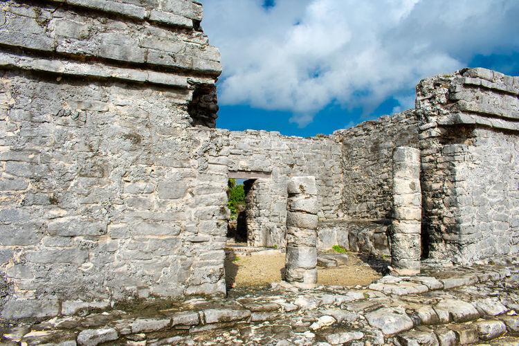Tulum Mexico Ruins Unesco Zona Arqueológica