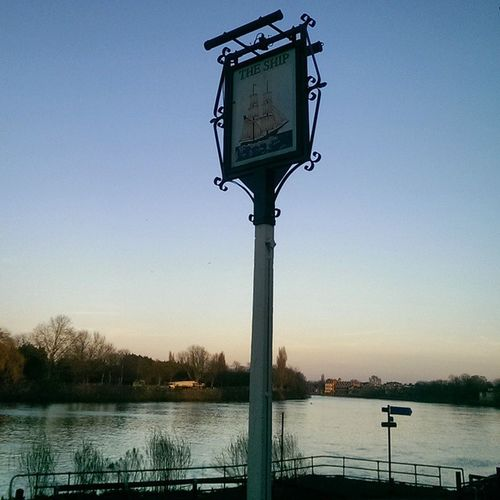 A pretty good end to a 12.5 mile run down the river Riversofinstagram Thames Riverthames Theship shipsofinstagram spring Mortlake SW14 London LDN running RunLDN peacebethejourney