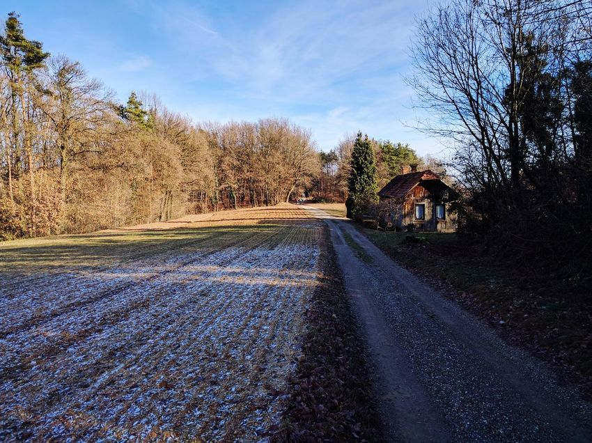 Lonely house Lonely House Road To Peace Fall Beauty Countryside
