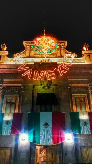 Viva Mexico Mexico Fiesta Patria September Bandera Night SanLuispotosi