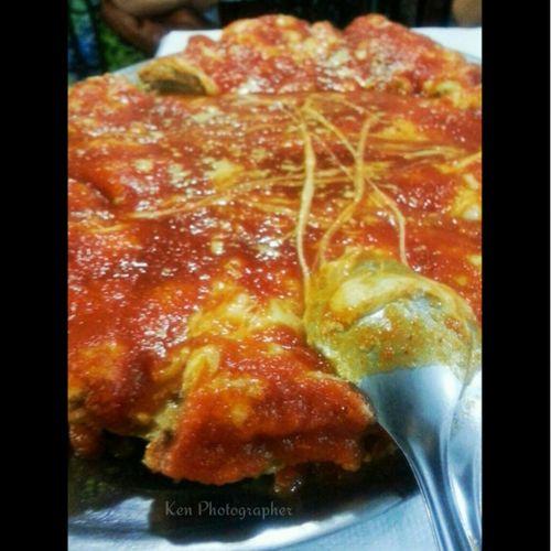 Taking Photos Yummy Delicious Food Parmegiana