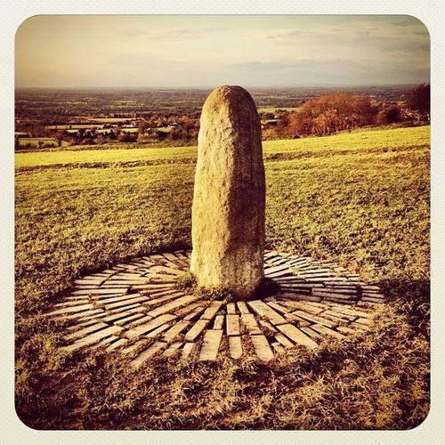 The Lia Fáil - Stone of Destiny ? #ireland #hill_of_tara #monument #jj #jj_forum #earlybirdlove #decdaily #meath #stone #landscape Landscape Stone Ireland Monument Jj  Earlybirdlove Jj_forum Decdaily Hill_of_tara Meath