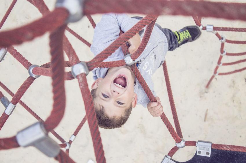 Boy Children Kids Playground Cry Sand EyeEmNewHere People Family