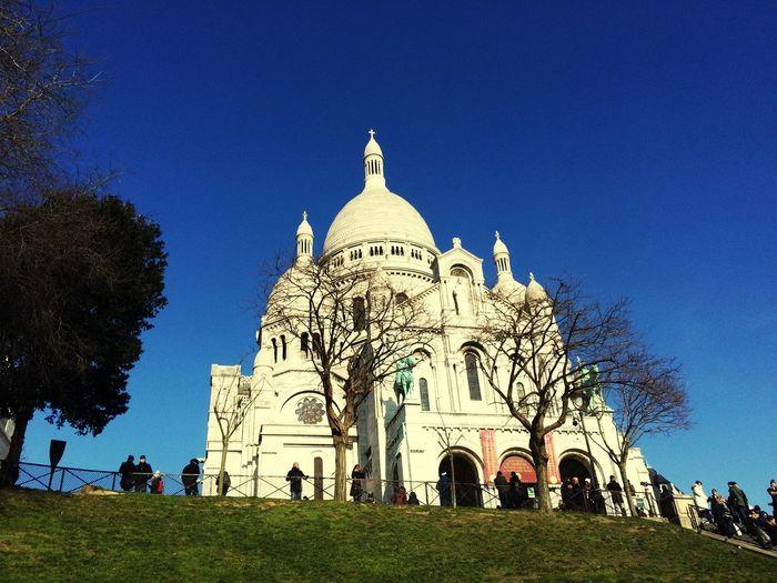 Sacré Coeur. Parigi Blue Sky