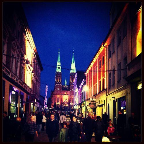 Rybnik Night Deptak First Eyeem Photo Poland