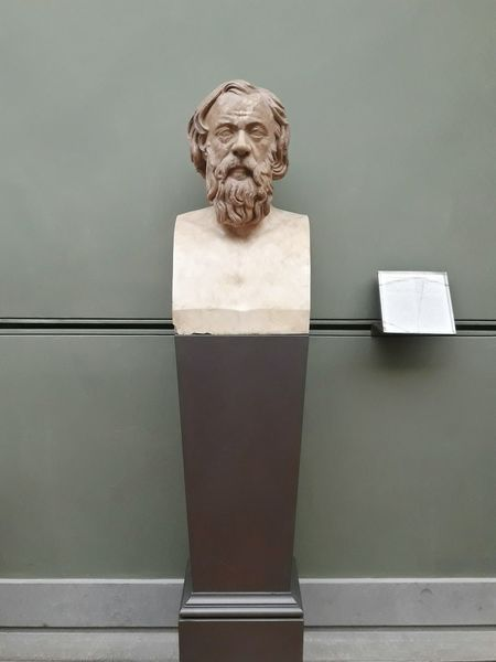 """""""Anyone who holds a true opinion without understanding is like a blind man on the right road."""" Earth Without Art Is Just Eh Sócrates Roman Art Philosophy Greece EyeEm Selects Portrait Close-up Human Representation Sculpture Art"""