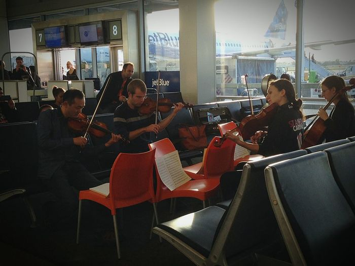 Waiting In The Airport Music Brings Us Together