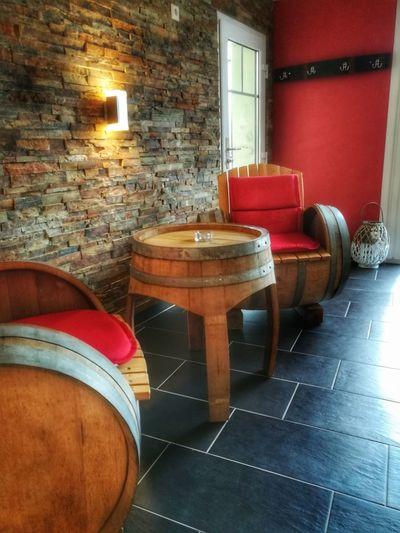 Furniture Design Vinothek Vinostyle Chair No People Barrel Wine Cask Indoors  Ambiente Weinmoebel Modernundalt Ausaltmachneu