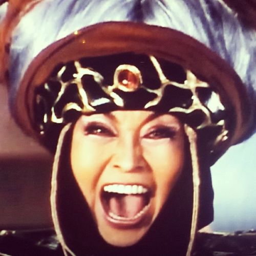 Watching old home movies...back when my Mum used Rita as her nickname and wanted to conquer earth. MightyMorphenPowerRangers RitaRepulsa AkaMum 1stEverEpisode Vintage FeelinOld Project365 29of365