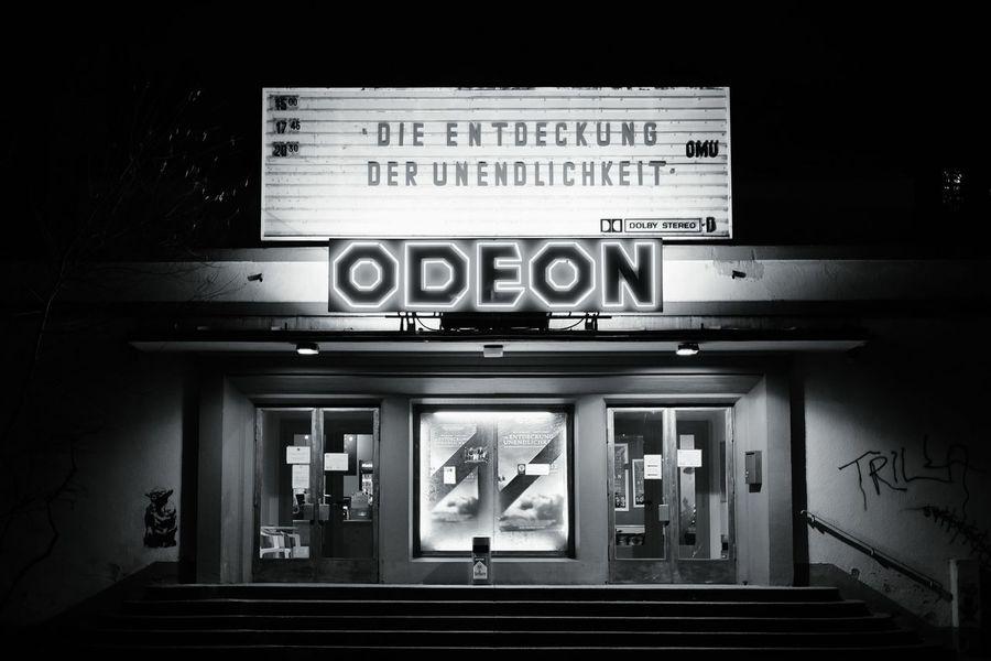 Stephen Hawking, the rockstar. Cinema Neon Lights My Fucking Berlin Streetphoto_bw Streetphotography Fucking Magnets
