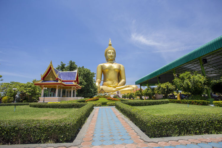 Wat muang ang thong thailand's largest buddha thailand discovery