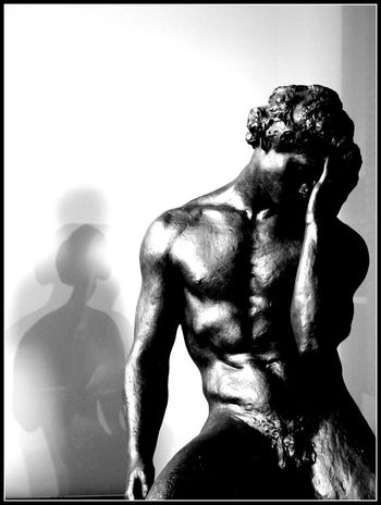 Nice Sculpture at the Bourdelle museum in Paris. Melancholy Modern Art Art Black And White Black & White Blackandwhite Photography Contrast Creative Light And Shadow