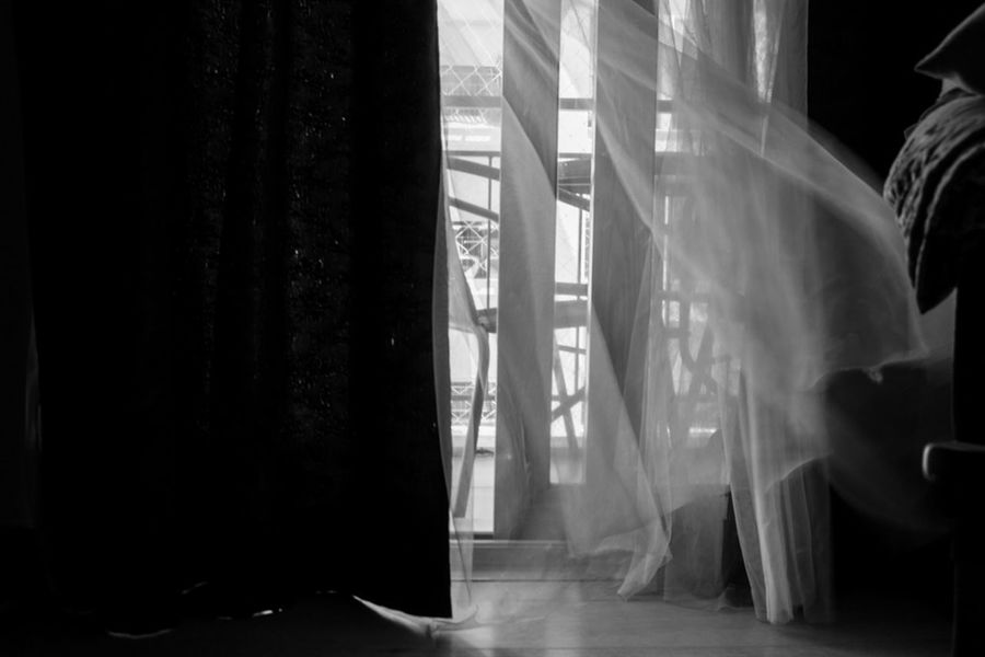 Indoors  Window Curtain No People Spooky Arts Culture And Entertainment Domestic Room Day Architecture