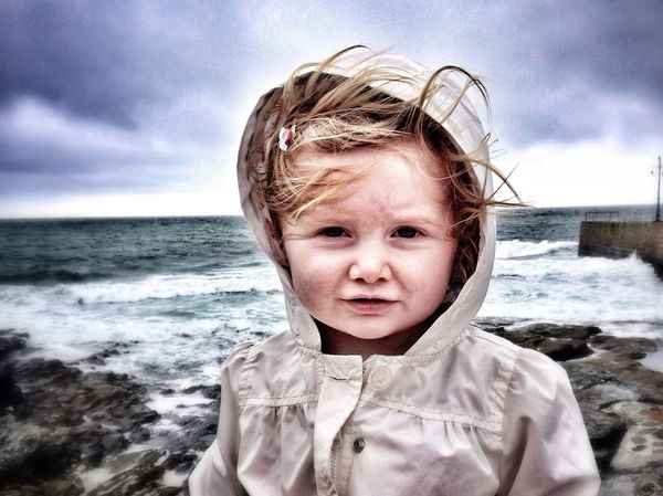 Porthleven Cornwall Sea My Daughter ♥ Beautiful Nature Portrait Sky Sky Collection Coastal