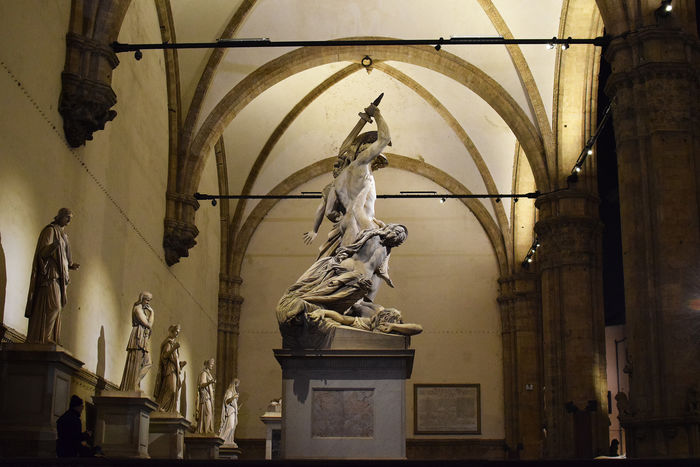 Loggia dei Lanzi in Florence! Loggiadeilanzi Statue Sculpture Art And Craft Architecture Human Representation Florence Italy Travel Destinations Italy 🇮🇹 Tuscany
