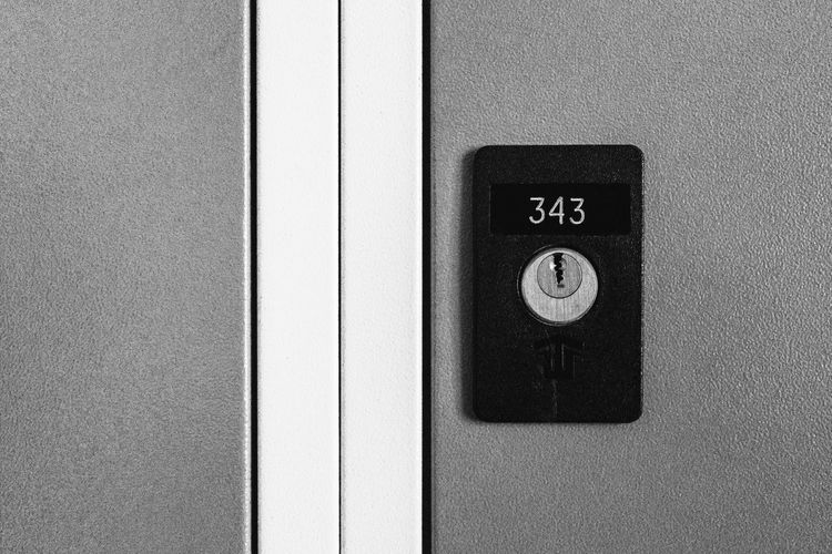 Locker 343 Locker Lock Number EyeEm Selects Close-up Communication No People Indoors  Day Architecture