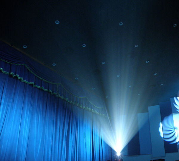 Curtain Illuminated Light Lightbeam Low Angle View Movie Projection Movies Performance Stage Curtains Stage Light Stage Performance Color Palette Pivotal Ideas