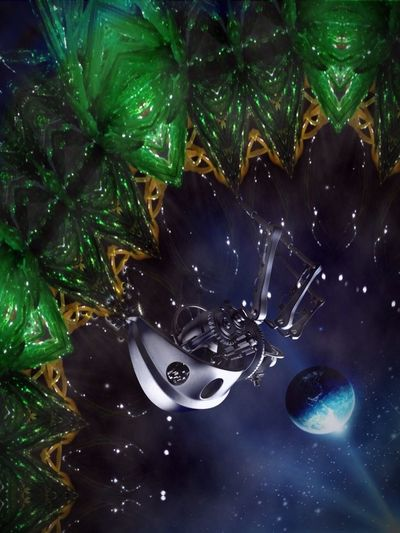 Machine Dreams Fantasy Edits NEM SciFi Distant