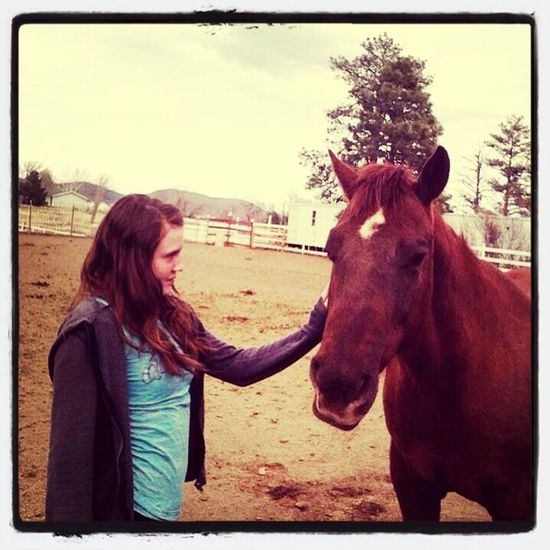 My horse and I Horses Cowgirl Cowgirl<3 50+ likes?