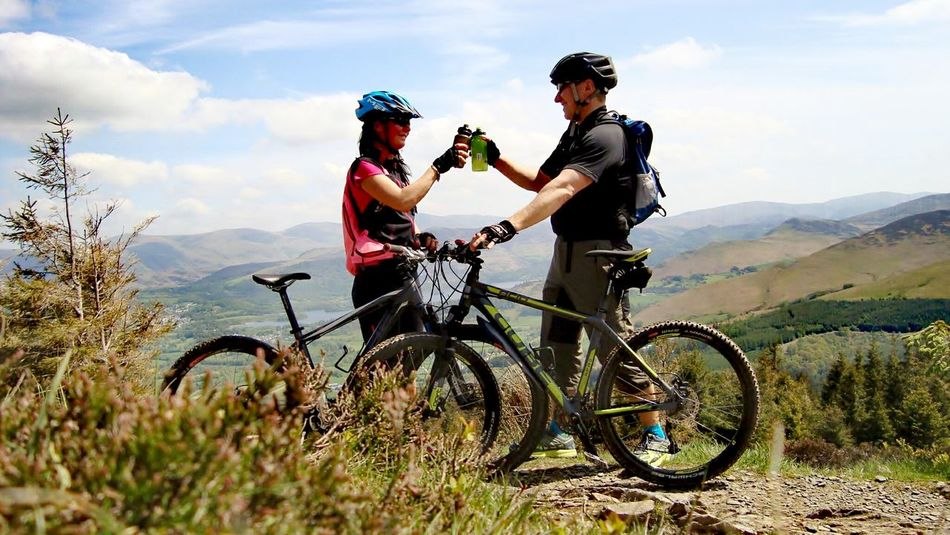 Bicycle Two People Cycling Travel Headwear Vacations Sunlight People Young Women Mountain Bike Happiness Leisure Activity Whinlatter Altura Trail Celebration Lake District Bikestagram Rower First Eyeem Photo Bikephotography Love Nature Activities Picture Frame Lifestyles Wife EyeEmNewHere