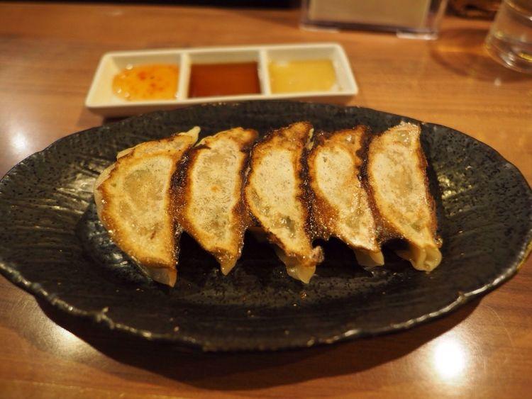 Kyoto Japan Kawaramachi Sen-no-kaze Gyoza Ramen Delicious Olympus PEN-F 京都 日本 河原町 餃子 昼ごはん 美味