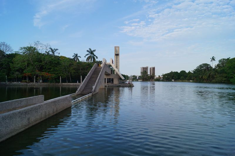 #park #parque Thomas Garrido #viewpoint Architecture Bridge - Man Made Structure Day Outdoors Sky Tree Water