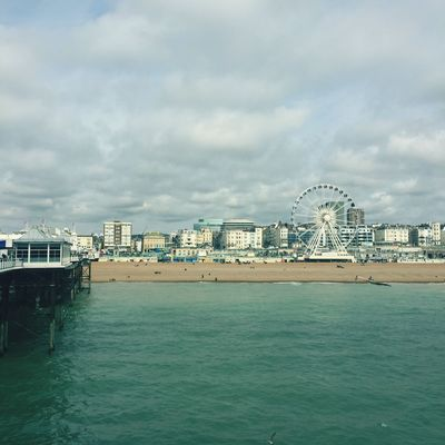 IPhoneography Walking Around Brighton Beachphotography Clean Air