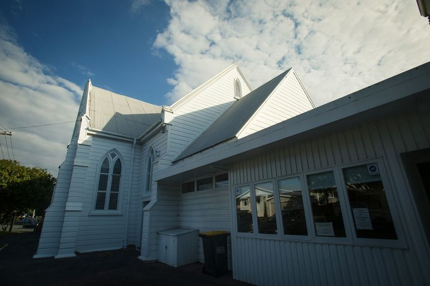 Mt Albert Methodist church Architecture Built Structure History Business Finance And Industry Ancient Cloud - Sky Building Exterior Travel Destinations Sky Modern Outdoors No People Day City Ancient Civilization Lifestyles Place Composition Place Of Worship Imagination Collection Cathedral Close-up Church Light And Shadow