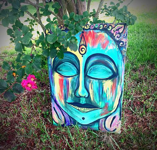 Doghairstudio Gypsylife Friends ❤ Gifted Art Buddha Art Is Life