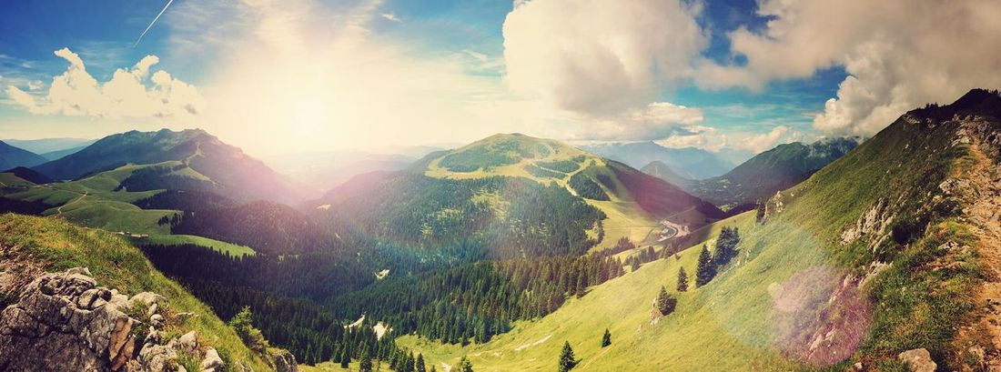 Beautiful place ! Mountain Beauty In Nature Non-urban Scene Tranquility Scenics