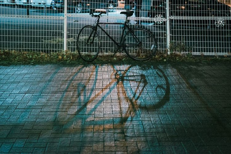 Bicycle Transportation Land Vehicle Stationary Day Mode Of Transport Outdoors Bicycle Rack No People Architecture Built Structure Building Exterior City