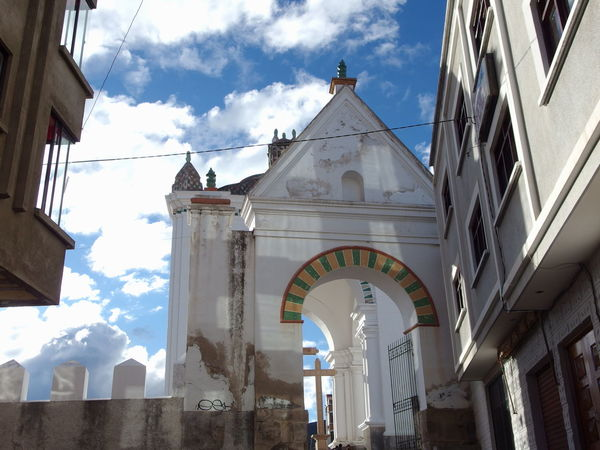 Architecture Bolivia Built Structure Church Cloud - Sky Copacabana Low Angle View No People Outdoors Sky